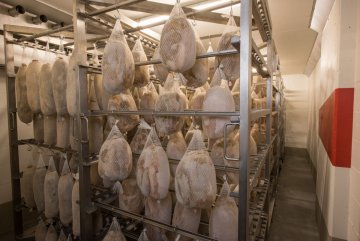 The meat drying house of master butcher Rolf von Siebenthal in Lauenen